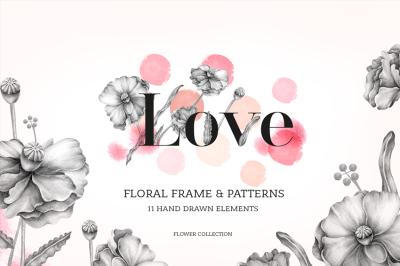 Love - Floral Collection