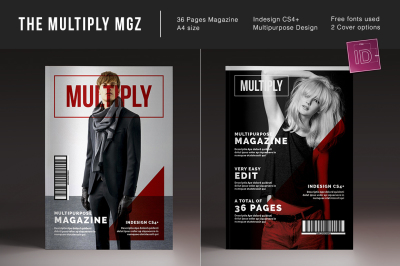 The Multiply Magazine Indesign Template