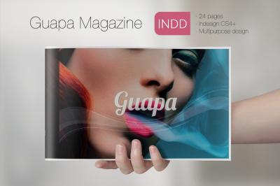 Guapa Magazine Indesign Template