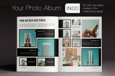 Your Photo Album Indesign Template