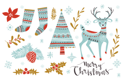 Cute Christmas set