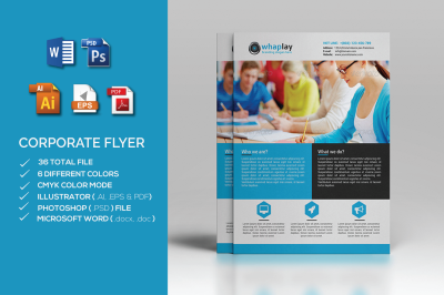 Corporate Flyer- MS word