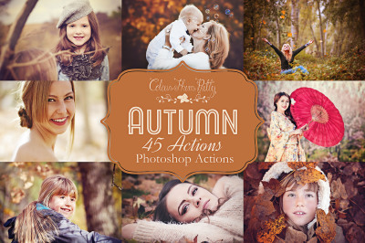 Autumn Actions for Photoshop