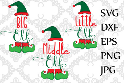 Little Elf SVG
