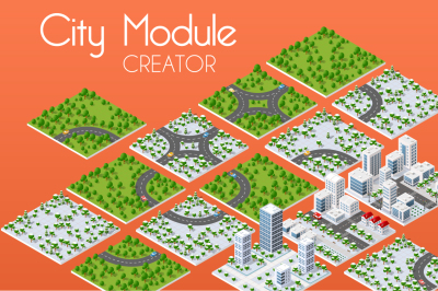 City module NATURE FOREST creator