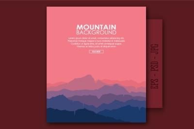 Mountain Landscape (eps+psd+jpg)