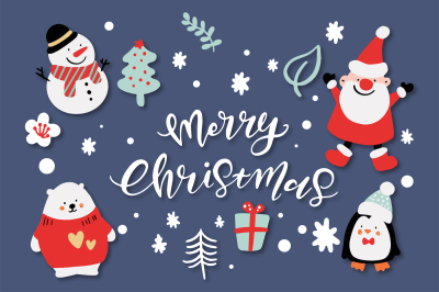 Merry Christmas Characters!