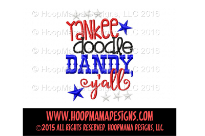 Yankee doodle dandy y'all