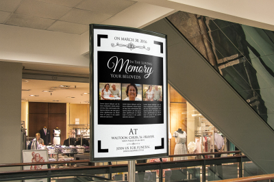 Senior Care Outdoor Ad Banner