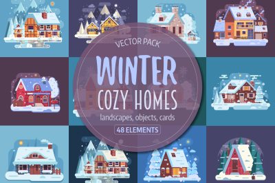 Winter Cozy House Collection
