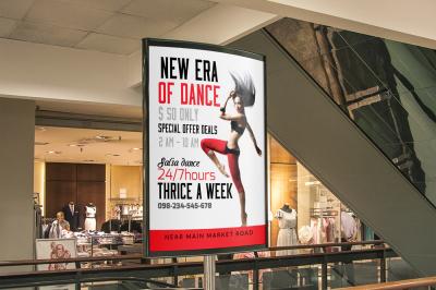 Dance Studio Bus Stop Banners