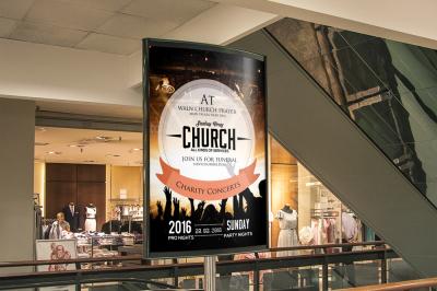 Faith Church Concert Outdoor Ad Banners