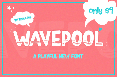 Wavepool Font