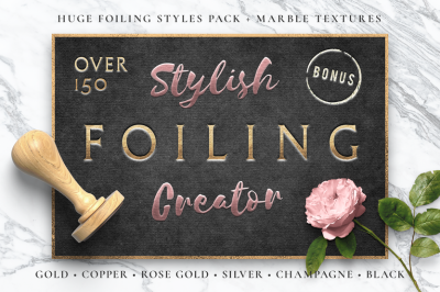 Foiling Creator / Stamping & Embossing