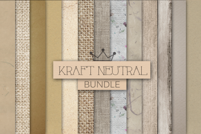 KRAFT NEUTRAL digital textures