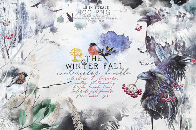 The Winter Fall all in 1 bundle