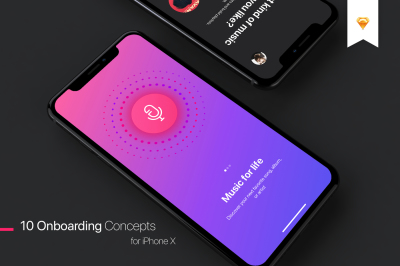 Walkthrough - Mobile UI Kit for iPhone X