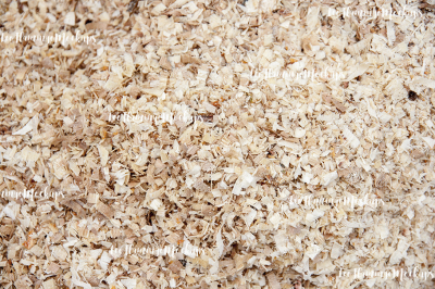 Sawdust wood chips stock photo background image