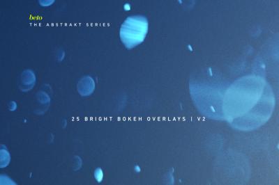 Bright Bokeh Overlays V2