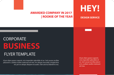 Corporate Busines Template Flyer