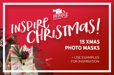 15 Christmas Photo Masks