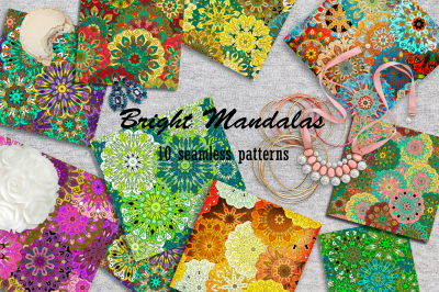 Bright Mandalas Patterns