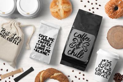 COFFEE lettering illustration