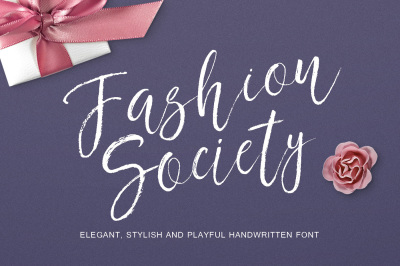 Fashion Society Handwritten Font