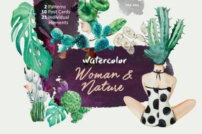 Woman & Nature