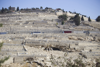 View of the Mount of Olives in Jerusalem
