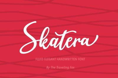 Skatera Skate Inspired Script