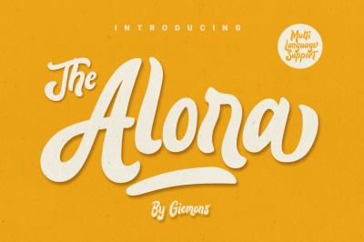 Alora Typeface