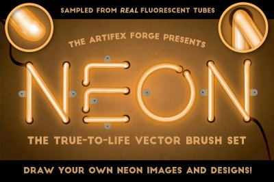 Neon - Realistic Brush Set