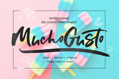 Mucho Gusto Font Family