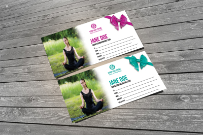 Fitness Yoga Voucher