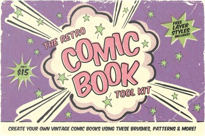The Retro Comic Book Tool Kit