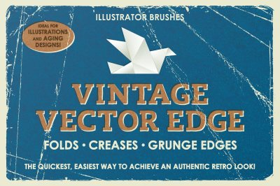Vintage Vector Edge Brushes