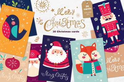 30 amazing Christmas illustrations
