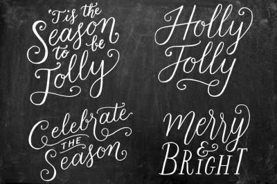 Christmas + Holiday Overlays Vol. 1