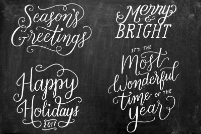 Christmas + Holiday Overlays Vol. 2