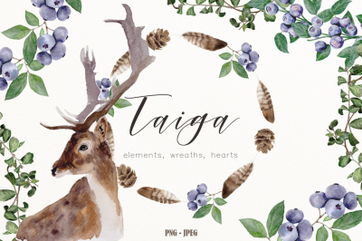 Watercolor Taiga Collection