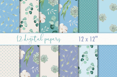 Digital scrapbooking paper