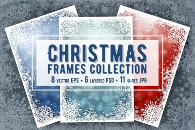 Christmas Frames Collection