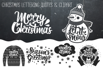 Christmas Lettering Quotes