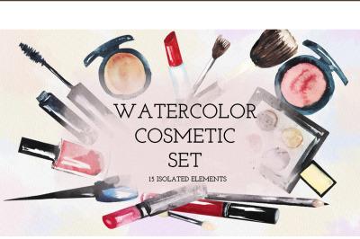 Watercolor cosmetics