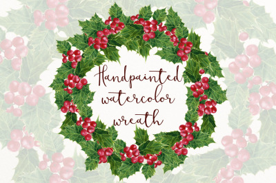 Holly wreath png