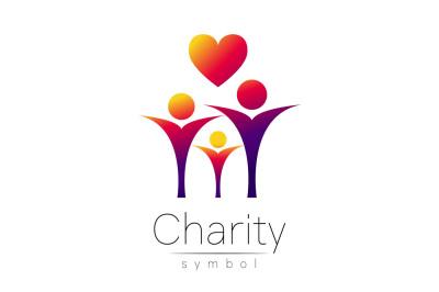 Symbol of Charity. Logo