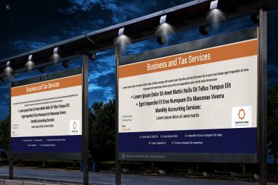 Business Outdoor Banner