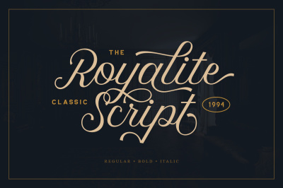 Royalite Script Family