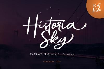 Historia Sky - Font Duo